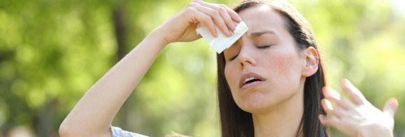 5 cosas que te hacen sudar en exceso
